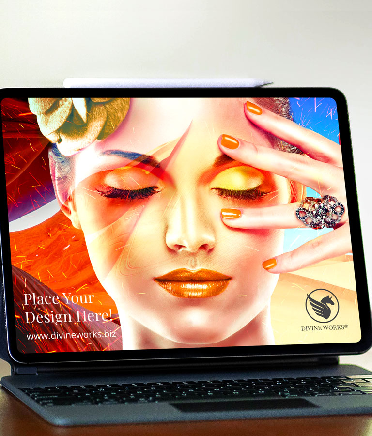Download Free iPad Pro PSD Mockup by Divine Works