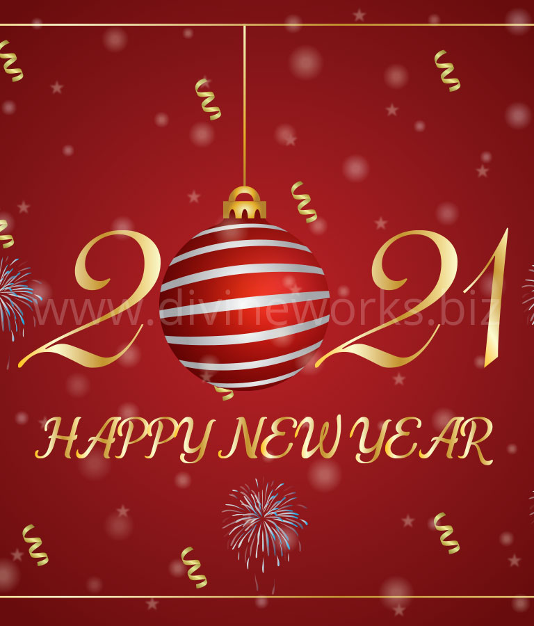 Download Free 2021 Happy New Year Vector by Divine Works