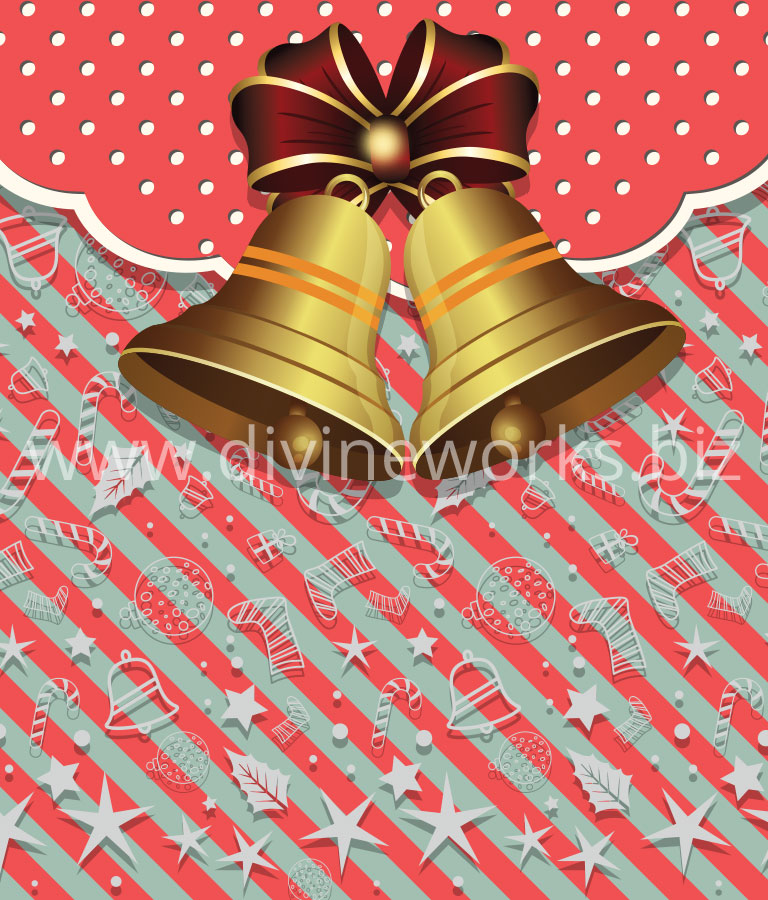 Download Free Christmas Bell Vector Illustration by Divine Works