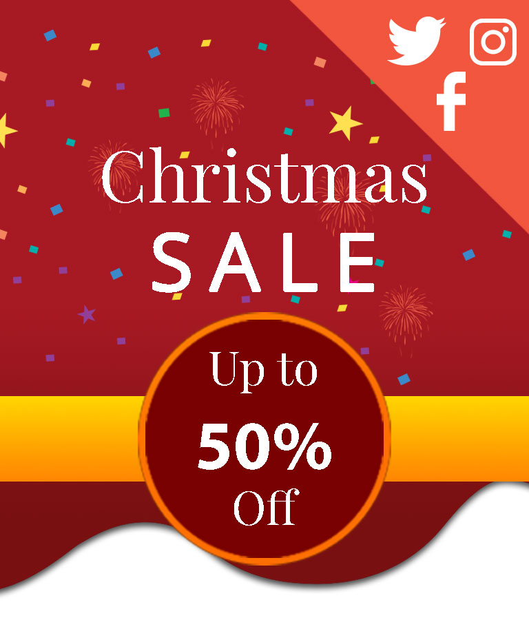 Download Free Christmas Sale Social Media Template by Divine Works