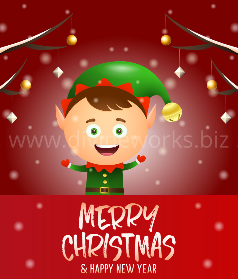 Download Free Adobe Illustrator Christmas Vector Art by Divine Works