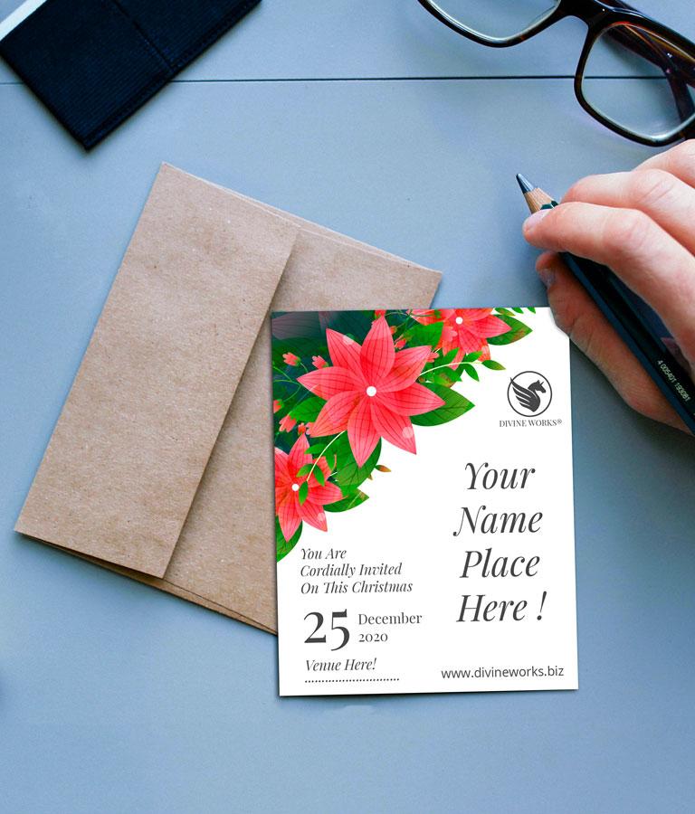 Download Free Invitation Card Mockup by Divine Works