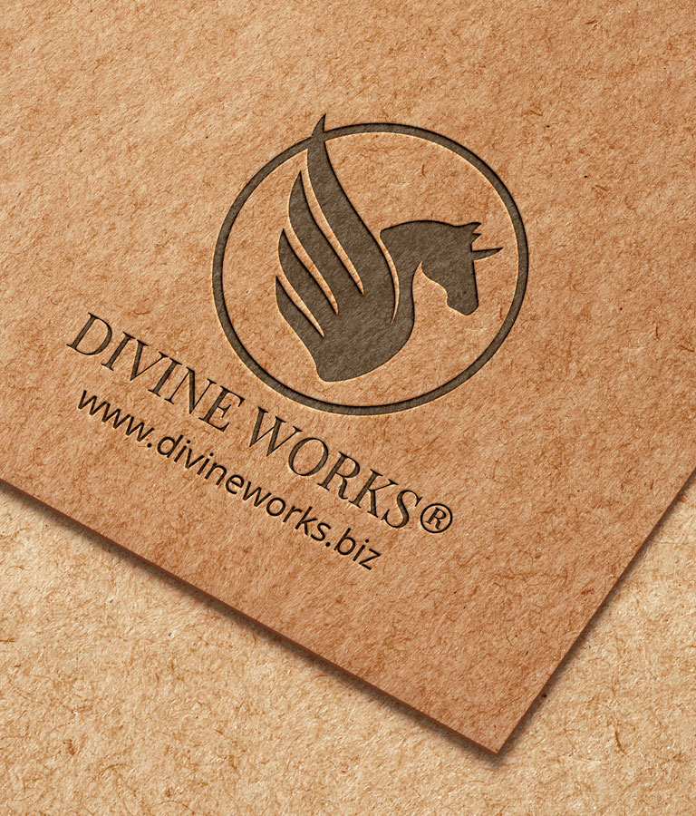 Download Free Embossed Logo by Divine Works