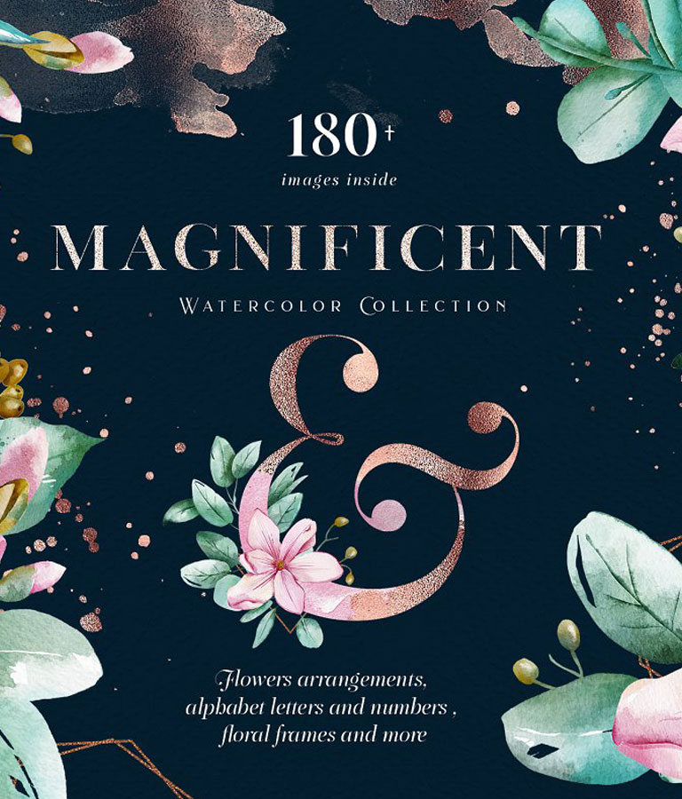 Magnificent Watercolor Collection