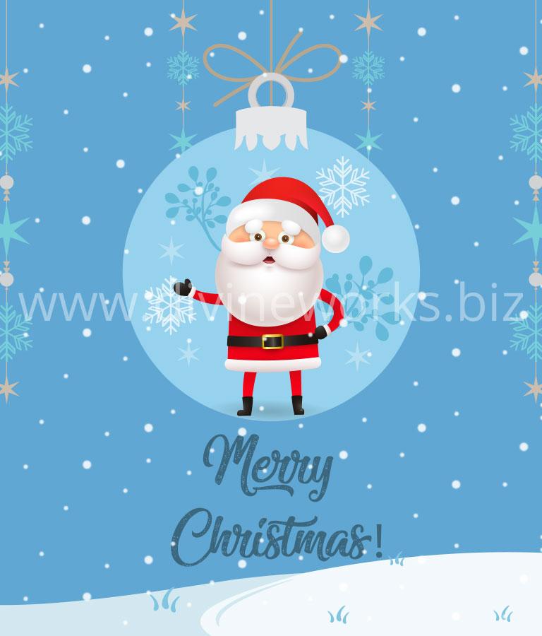 Merry Christmas Vector Theme
