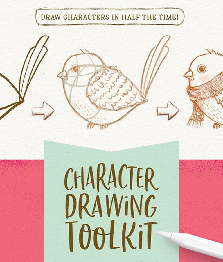 Procreate Bird Drawing Toolkit