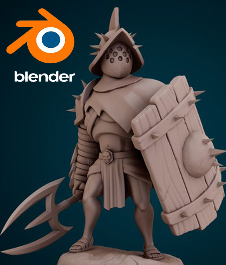 Character Sculpting With Blender