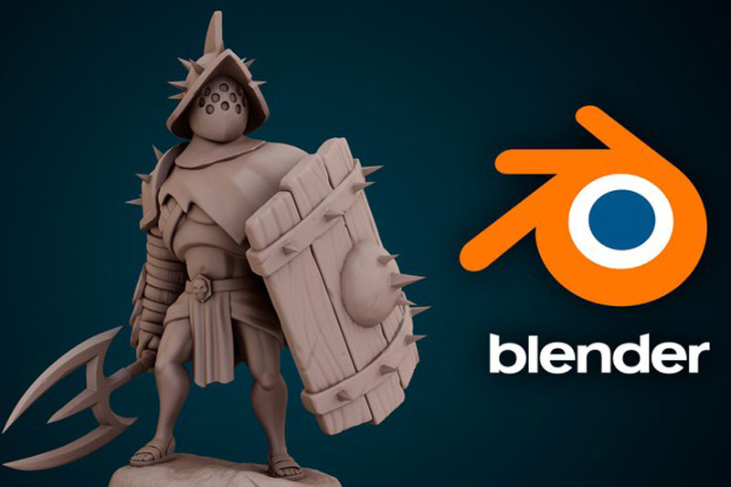 Character sculpting with blender Create a stylized warrior