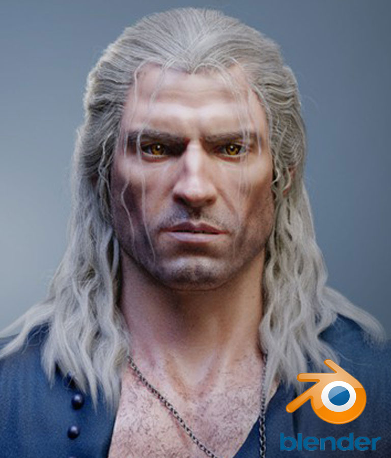 Realistic Character Creation in Blender