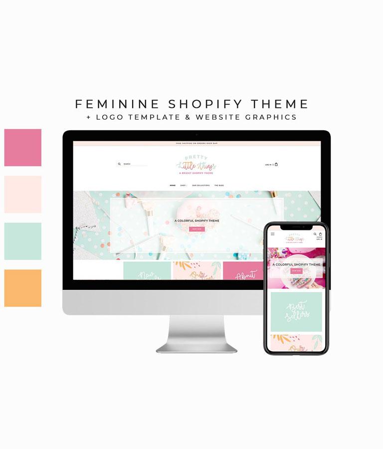 Feminine Shopify Theme