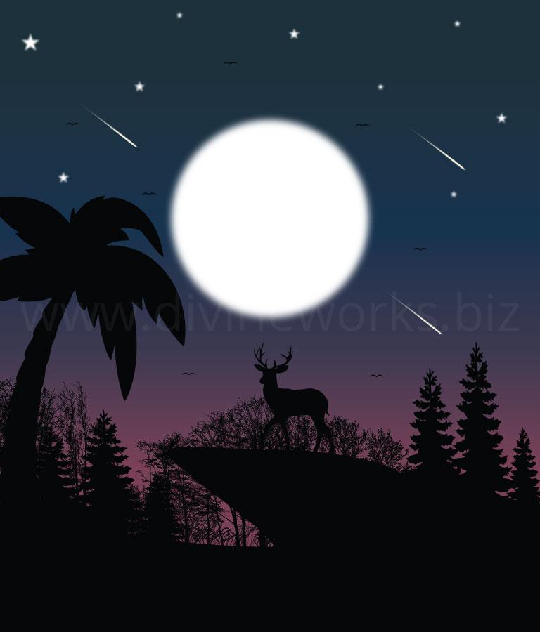 Download Free Vector Deer Silhouette by Divine Works