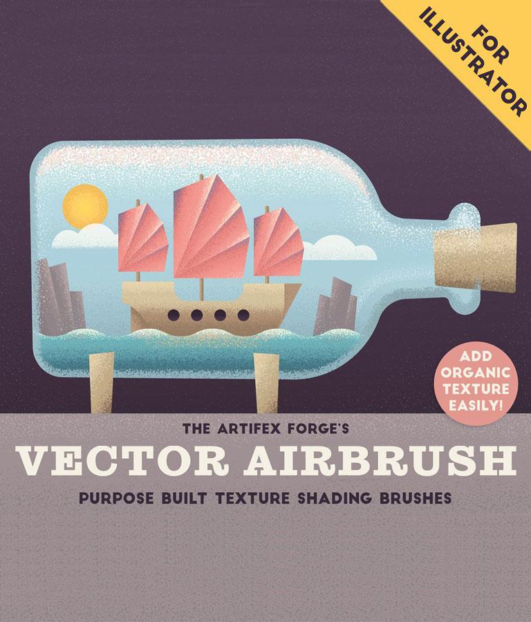 Vector Airbrush Shader