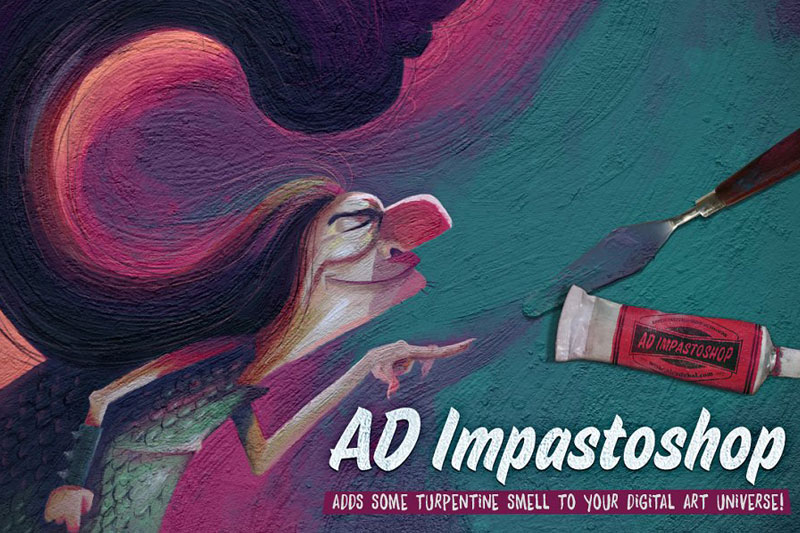 AD Impastoshop Thick Paint Machine