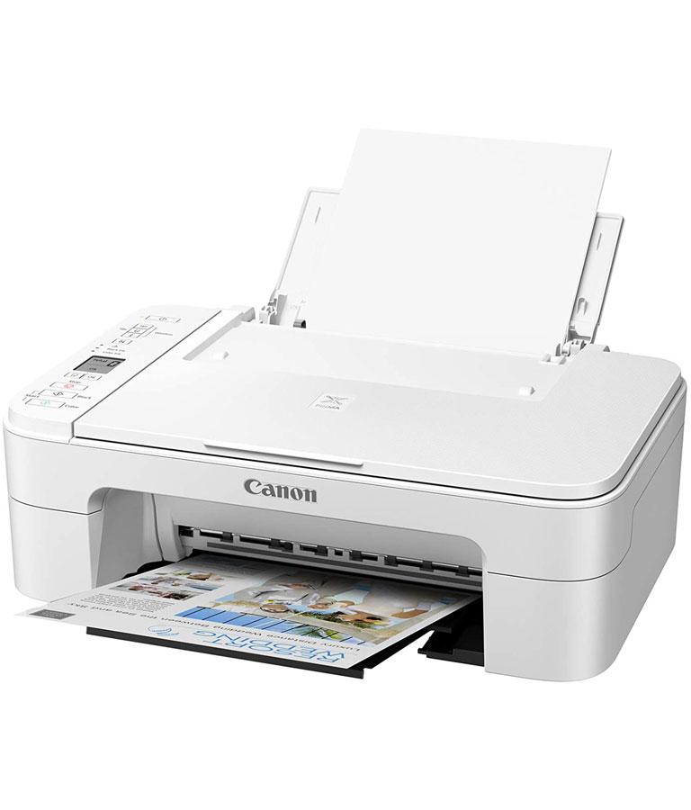 Pixma Canon TS3322 Wireless All in One Printer - White