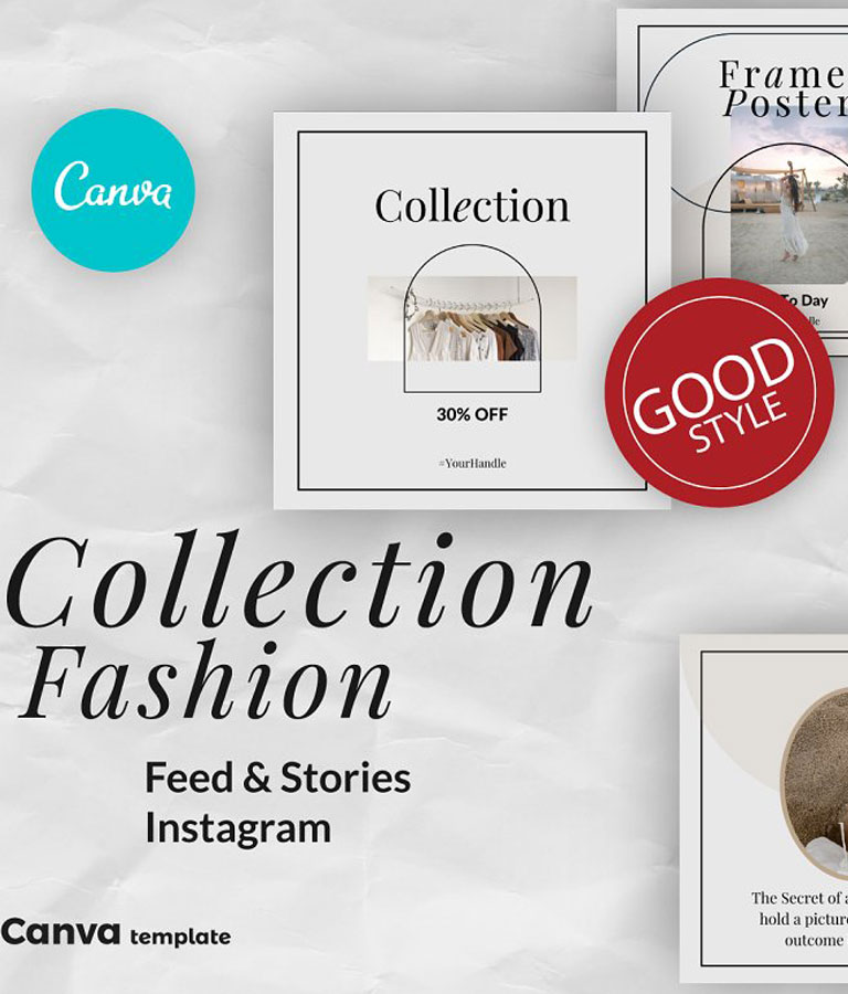 Collection Canva Instagram