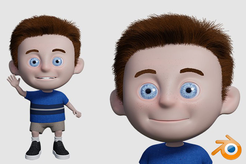 Create an Animated Character in Blender 2.9
