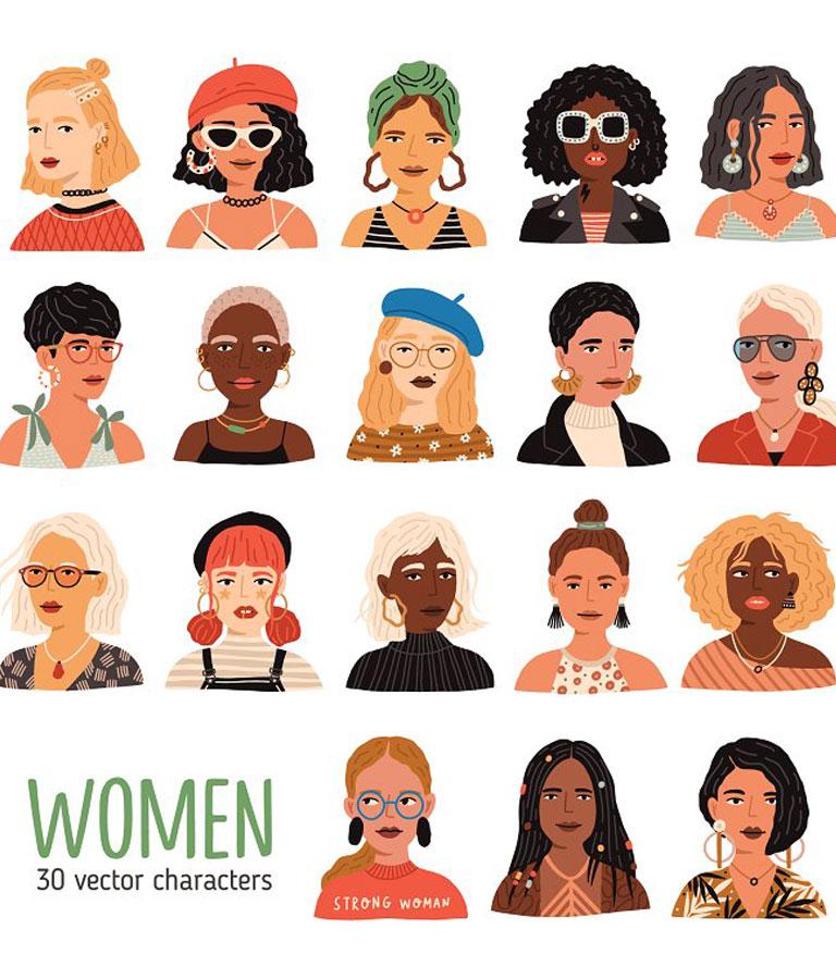 Modern Women Portraits