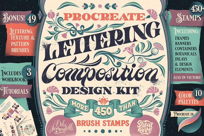 Procreate Composition Design Kit 1