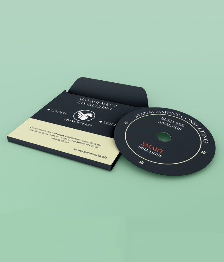 CD & Cover Mockup