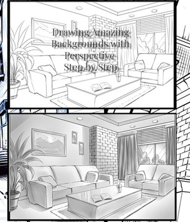 Drawing Backgrounds with Perspective