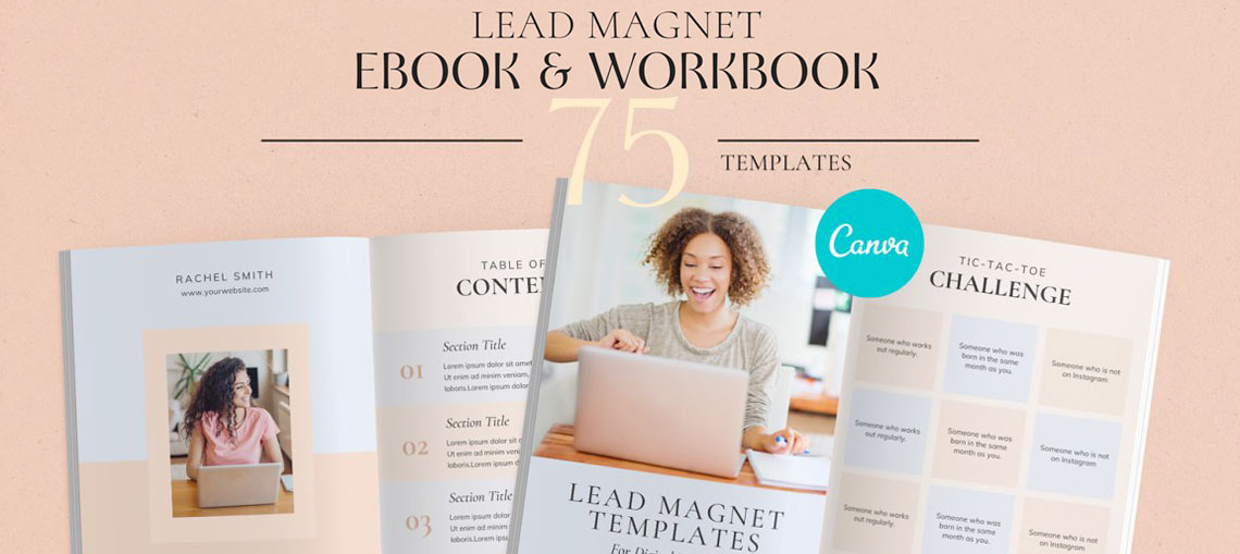 Lead Magnet Canva Ebook Workbook