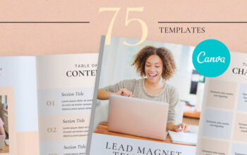 Lead Magnet Canva Ebook Workbook