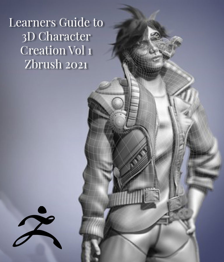 3D Character Creation Zbrush 2021