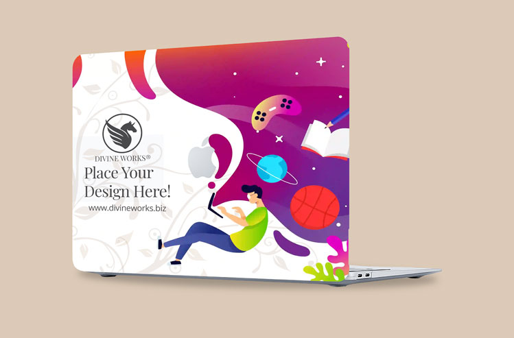 Download Free MacBook Air Cover Mockup by Divine Works