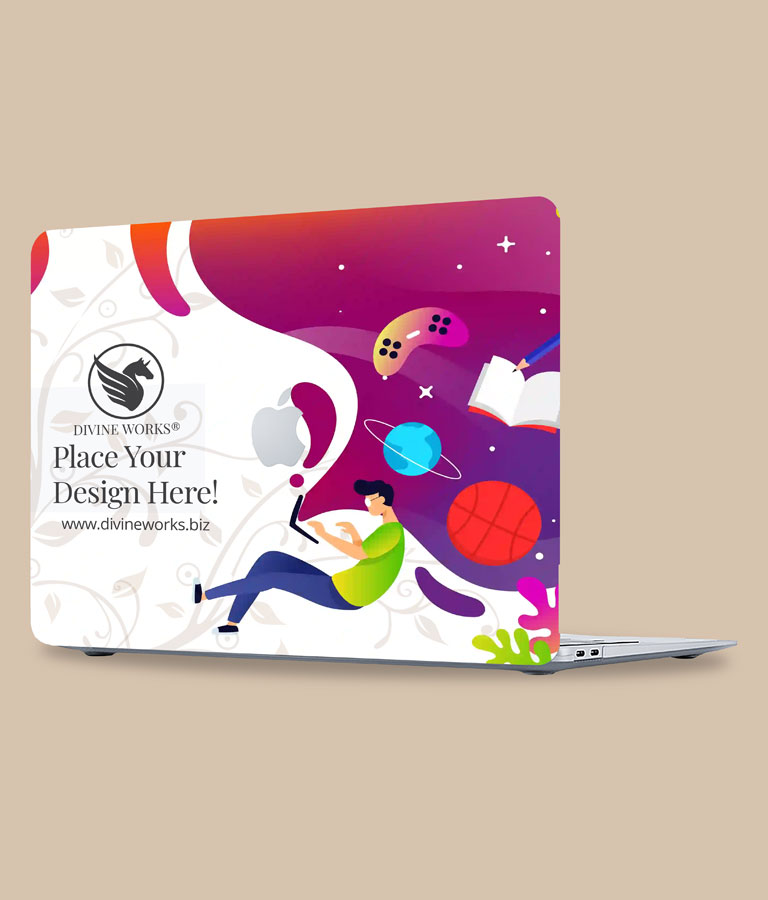 MacBook Air Cover Mockup