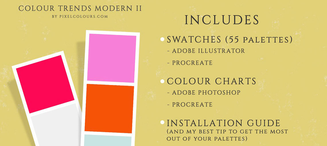 Modern Color Swatches Vol2.
