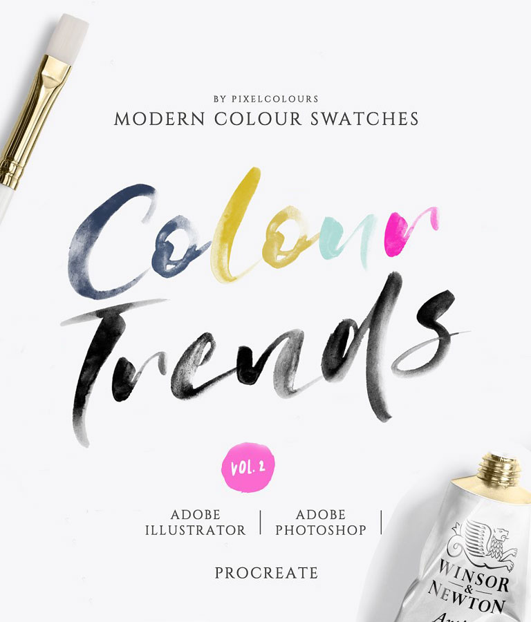 Modern Color Swatches