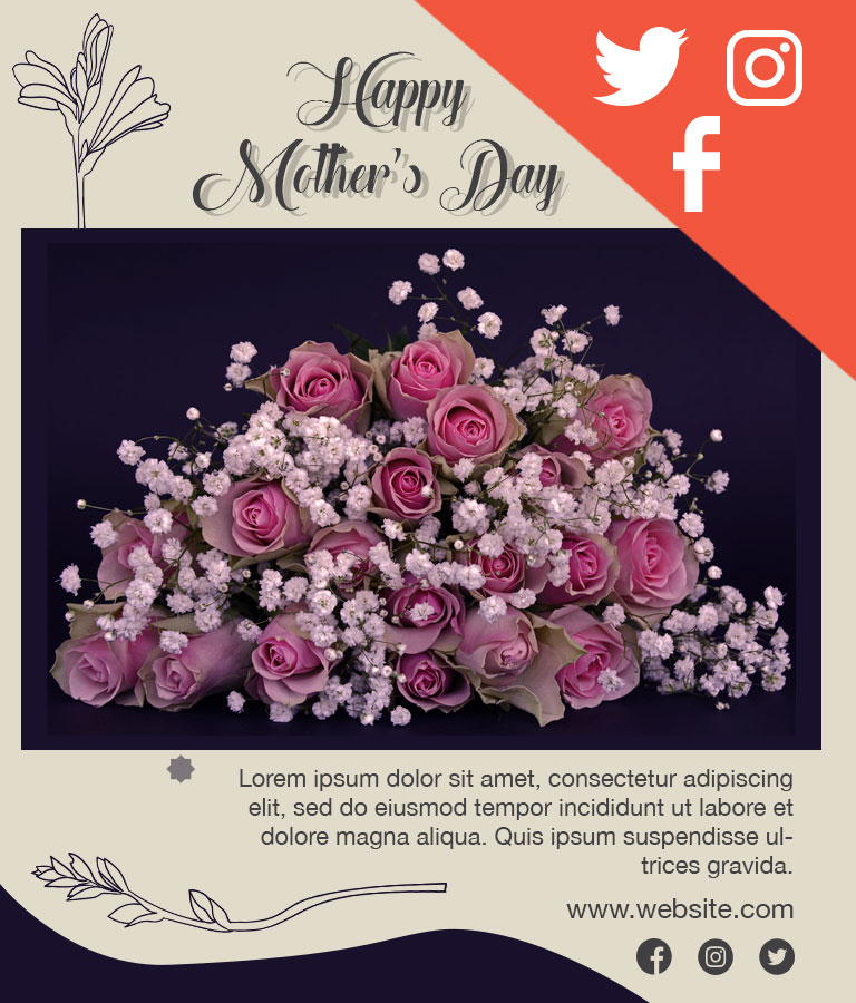 Download Free Mother Day Social Media Template by Divine Works
