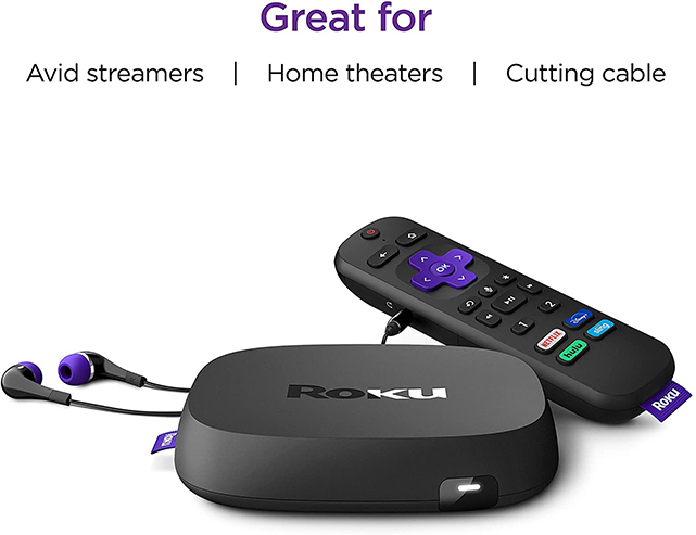 Roku Ultra 2020 | Streaming Media Player