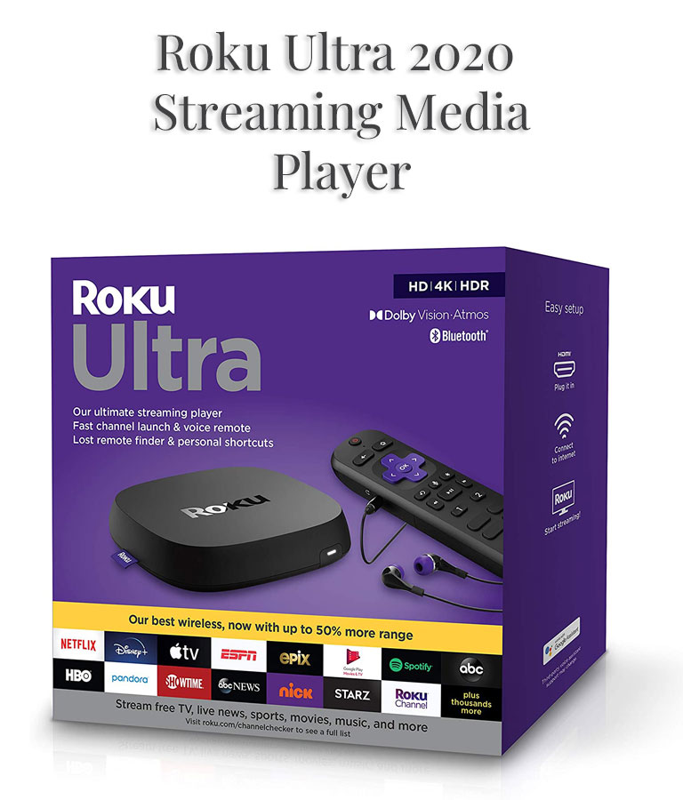 Roku Ultra 2020 Streaming Media Player