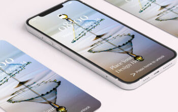Downloa Free iPhone 12 Pro Screen Mockup by Divine Works