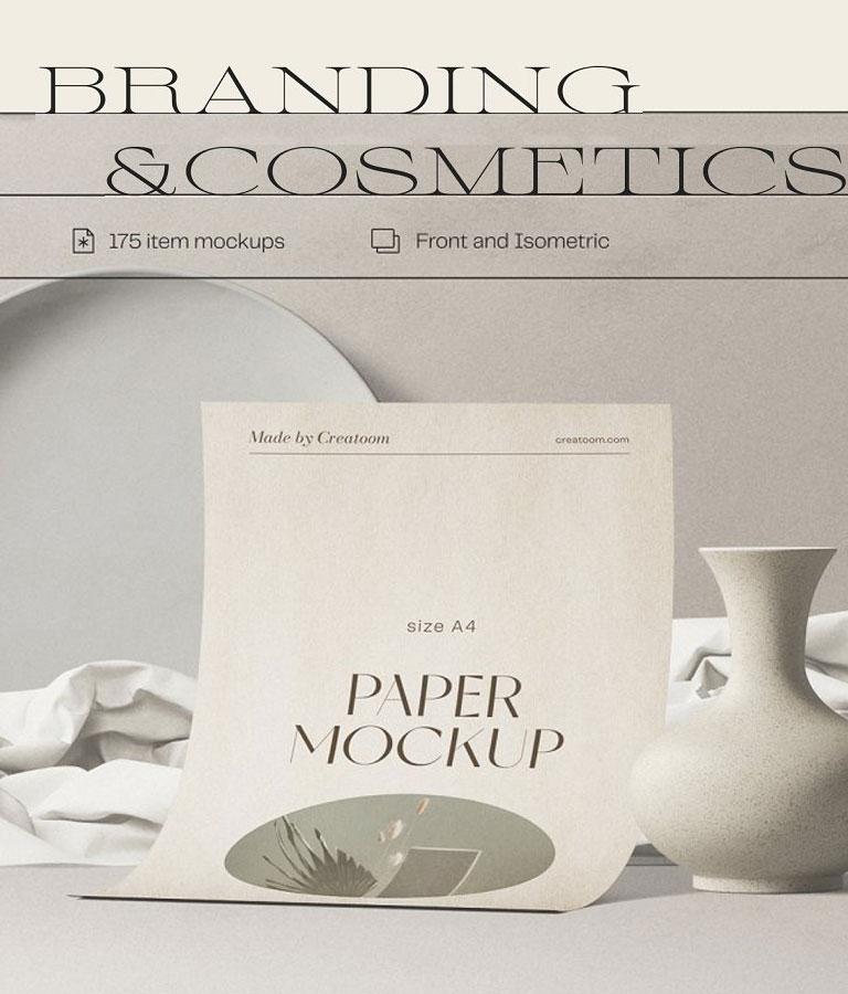 Branding&Cosmetics Mockup