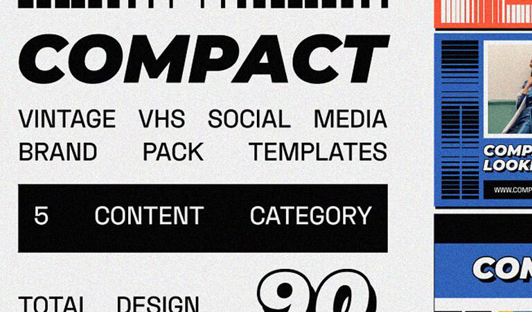 COMPACT Social Media Templates