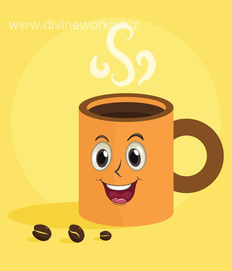 Coffee Mug Vector Art