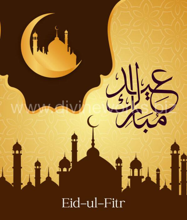 Download Free Eid-ul-Fitr-Mubarak Vector Art by Divine Works