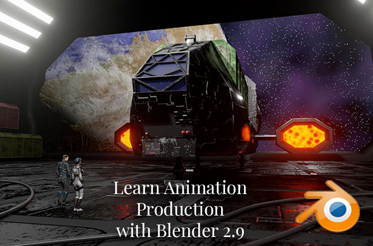Learn Animation Production with Blender 2.9