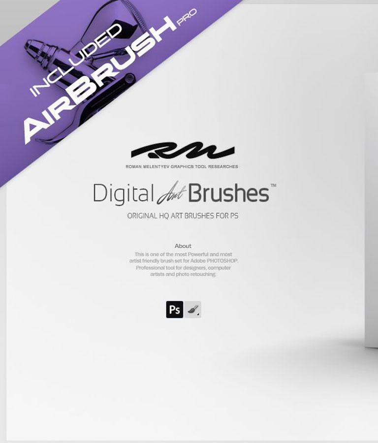 RM Digital Art Brushes