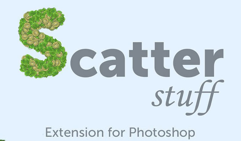 Scatter Stuff Photoshop Extension