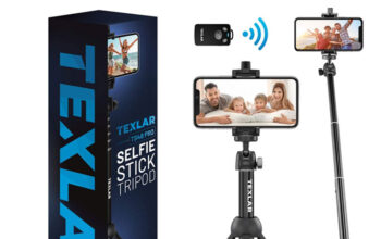 Texlar Selfie Stick Tripod TS48 Pro with Remote
