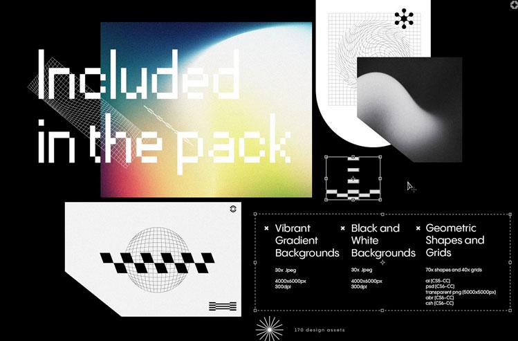 Texturas - Retro Graphics Pack