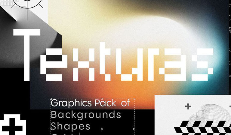Texturas - Retro Graphics Pack