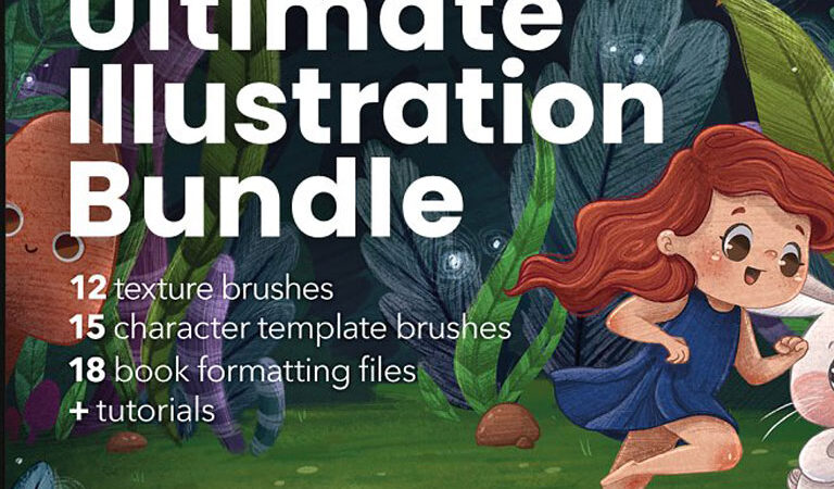 Ultimate Procreate Illustration Kit