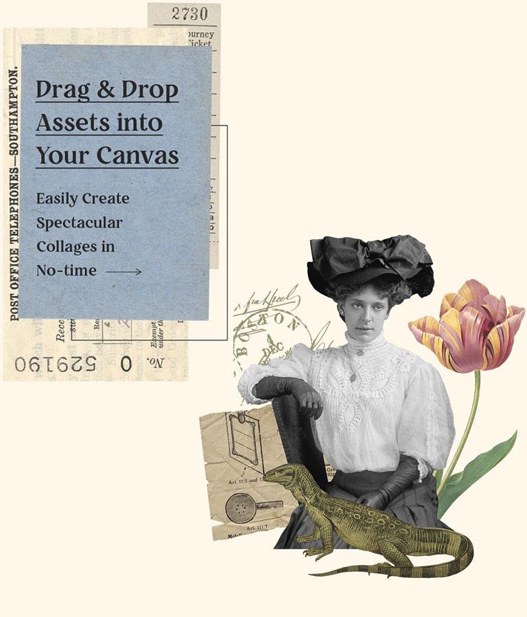 Vintage Collage Creator