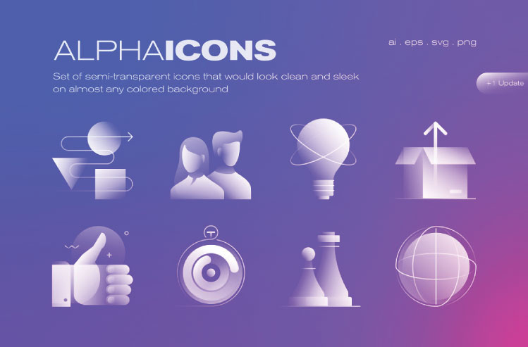 Alpha Icons Collection