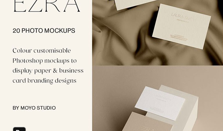 Branding & Business Card Mockups