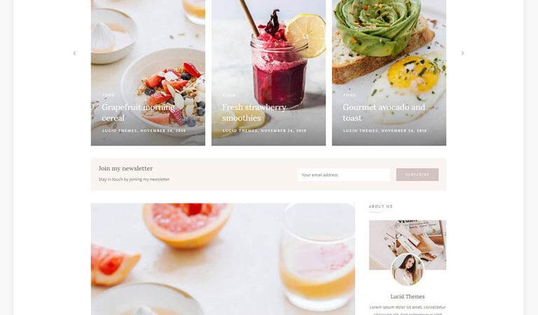 Faith - Blog & Shop WordPress Theme